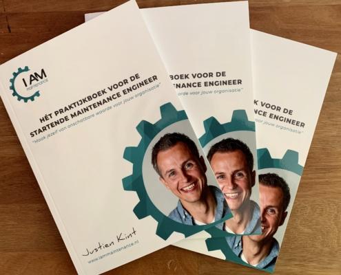 Het praktijkboek voor de startende maintenance engineer